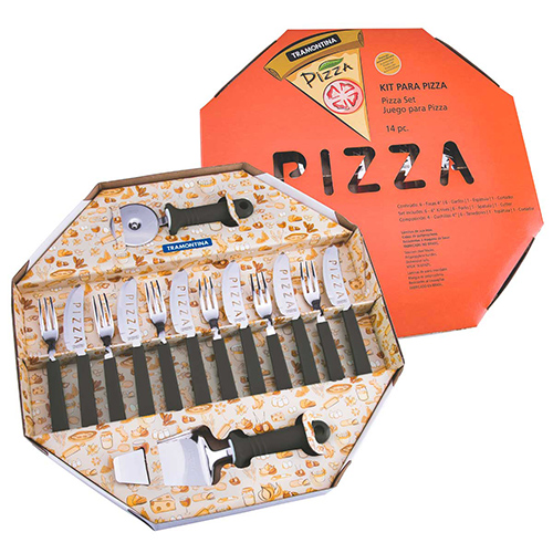 Kit Pizza Preto